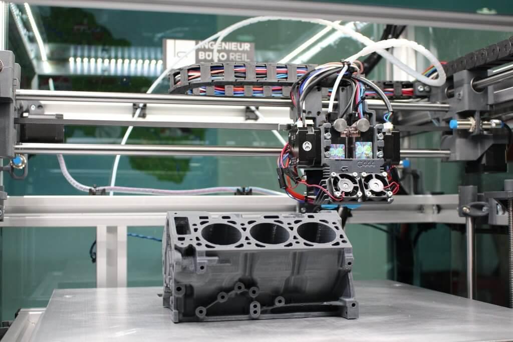 Industry sized FDM-printer