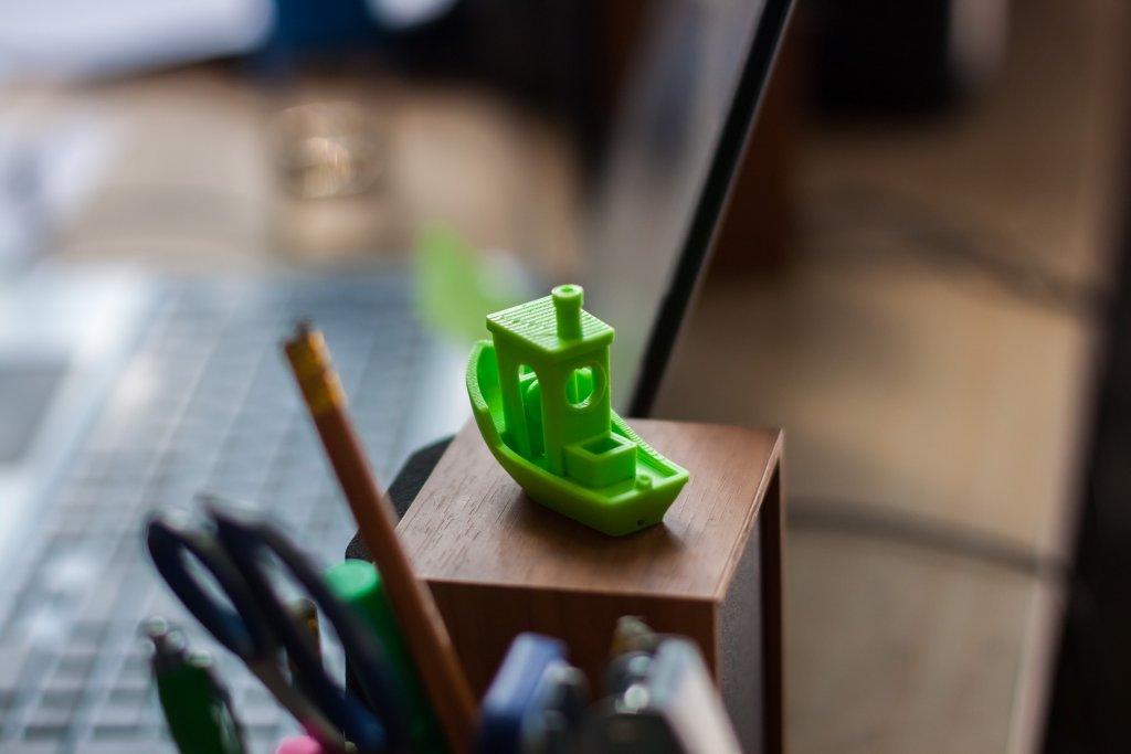 3D-print of 3d benchy